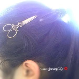 Antique Brass Bobby Pin Hair Clip